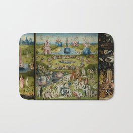 The Garden Of Earthly Delights (Extreme High Quality) Bath Mat