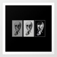 skull#05 Art Print