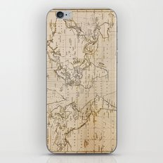 World Map 1844 iPhone & iPod Skin