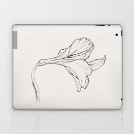 Lily in Ink Laptop & iPad Skin