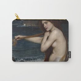 A MERMAID - WATERHOUSE Carry-All Pouch