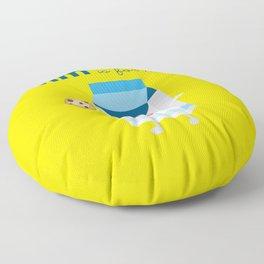 M is for Milk Floor Pillow