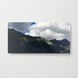 Into the Mountains - Alps Metal Print