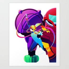 Metroid Poster Art Print