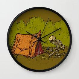 Skin Tent Wall Clock
