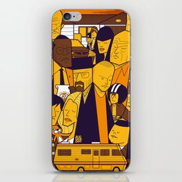 Breaking Bad (yellow version) iPhone Skin