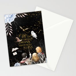 To Dwell On Dreams Stationery Cards