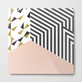 Pink&Gold Room #society6 #decor #buyart Metal Print