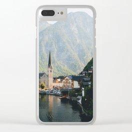 Hallstatt, Austria #society6 #decor #buyart Clear iPhone Case
