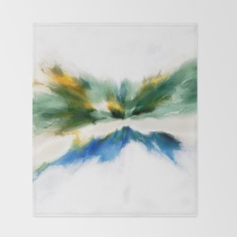 Serenity Abstract Throw Blanket