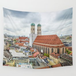 The Cathedral of Munich Wall Tapestry
