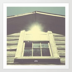 Dilapidation. Art Print
