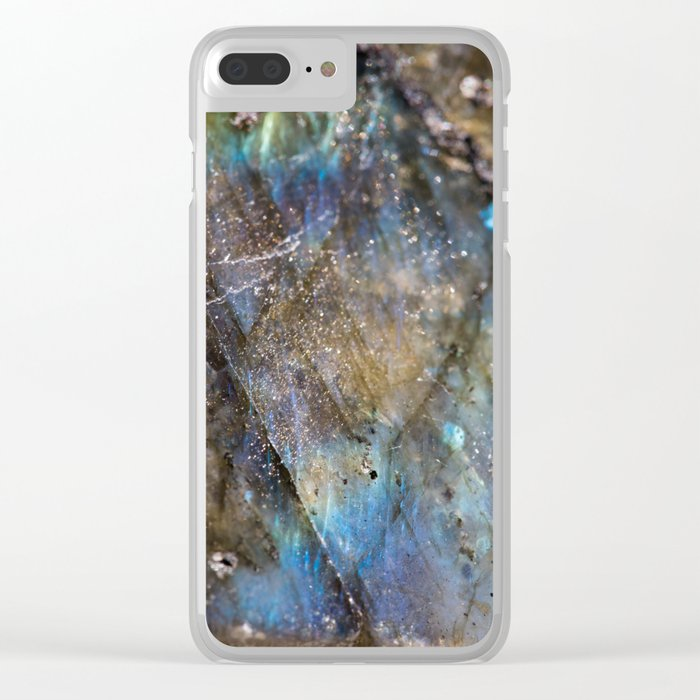 LABRADORITE 1 Clear iPhone Case