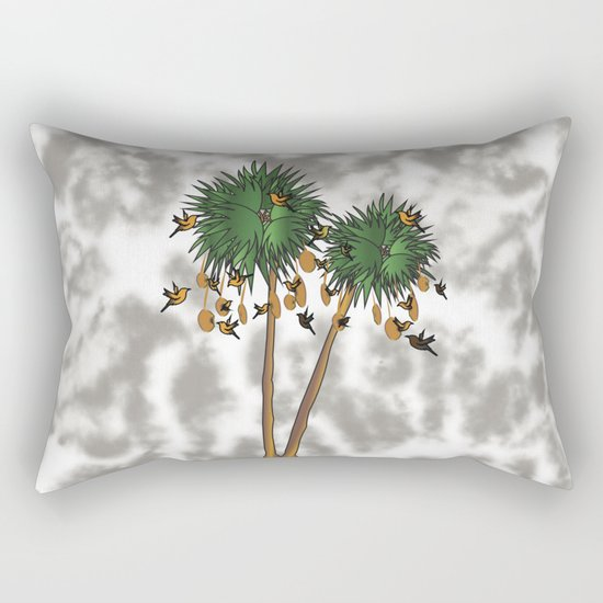 tree1 Rectangular Pillow
