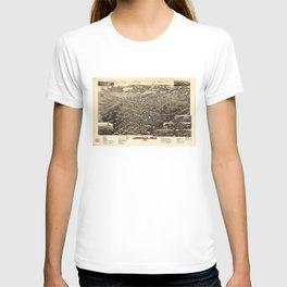 Bird's Eye View of Leadville, Colorado (1882) T-shirt
