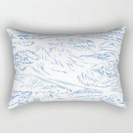MicroWave Goodbye Rectangular Pillow