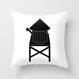 Farmhouse Water Tank Throw Pillow