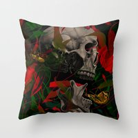 Existence Throw Pillow