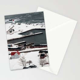 Winter in Neil's Harbour Stationery Cards