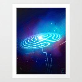 Netrunner - Waiver Art Print