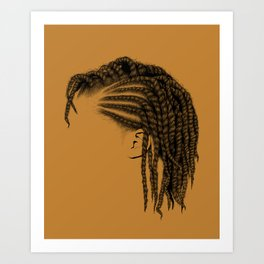 Crown: Twists Art Print