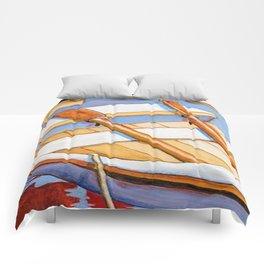 Row Boat Too Comforters