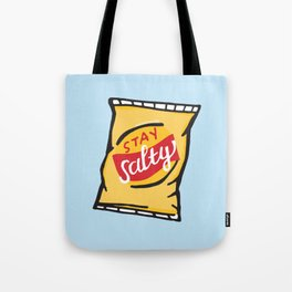 Stay Salty Potato Chips Tote Bag