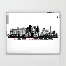 Las Vegas skyline black Laptop & iPad Skin