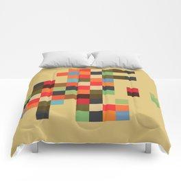 Mid Century Textile Series 1_3 Comforters