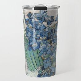 Vincent van Gogh Irises Floral Purple Travel Mug