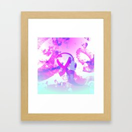 I Am The Cosmos Framed Art Print