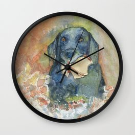 Want to Play Fetch??? Wall Clock