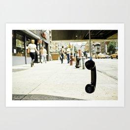 Pay Phone Art Print