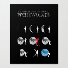 The Essential Guide To Avoiding Werewolves Canvas Print