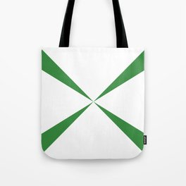 Simple Construction Green Tote Bag