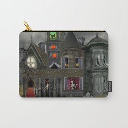 Halloween Haunted Mansion Carry-All Pouch