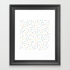 Candy Repeat Framed Art Print