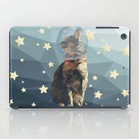 space cat iPad Cases featuring Space Cat. by Dani Does Art