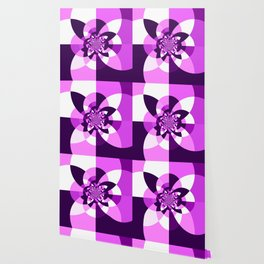 Purple Kaleidoscope Mandala Wallpaper