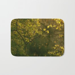 Golden Green Bath Mat