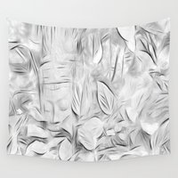 meditation Wall Tapestries featuring Meditation by Dorothy Pinder