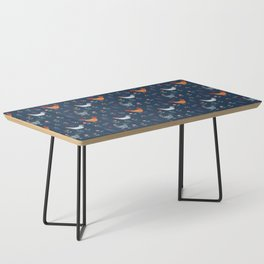 Little Hens (blue) Coffee Table