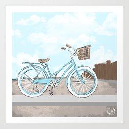 Beach Cruiser Art Print