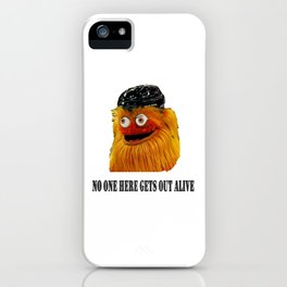 Gritty Mascot iPhone Case