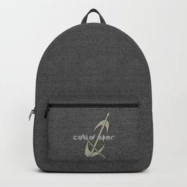 Silver Grey Cello Backpack