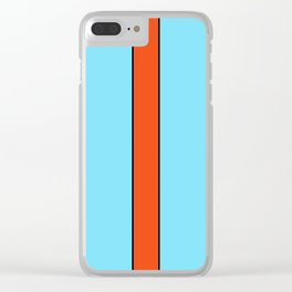 Oily Tradition Clear iPhone Case