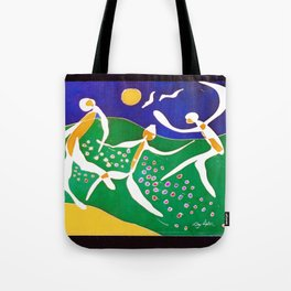 JOYFUL we Play!        by Kay Lipton Tote Bag