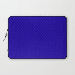 Blue Diamond Pattern Laptop Sleeve