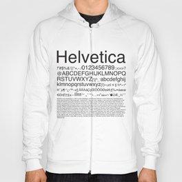 Helvetica (Black) Hoody