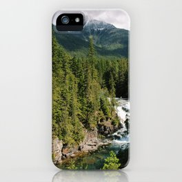 Montana River iPhone Case
